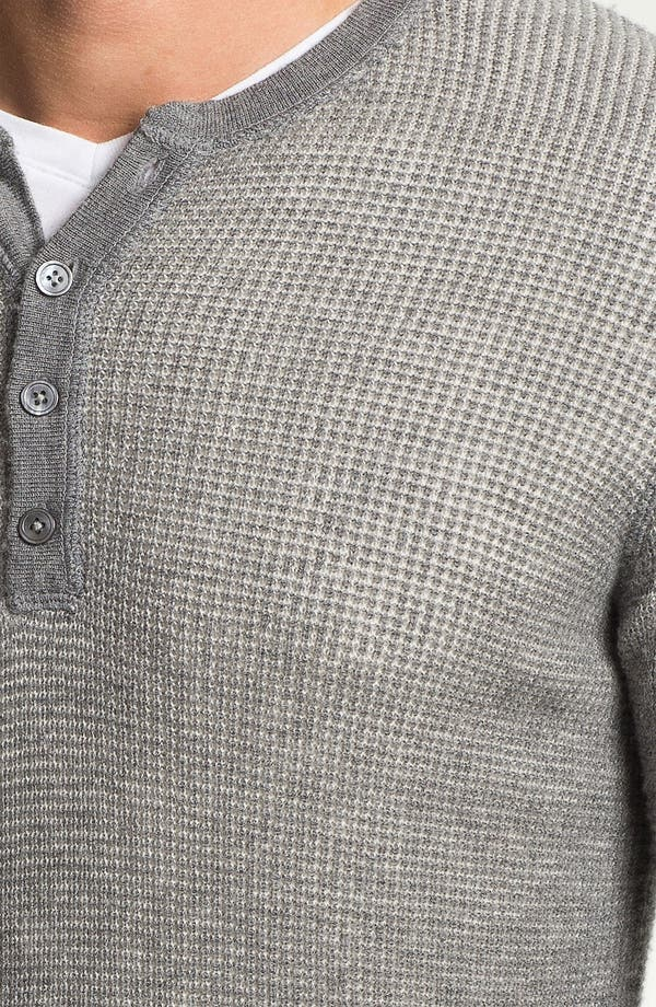 Alternate Image 3  - Vince Long Sleeve Wool Thermal Henley