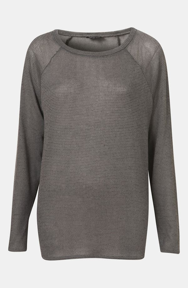 Main Image - Topshop Sheer Sweater