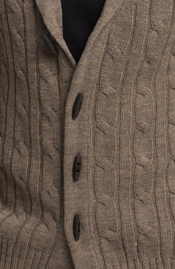 Alternate Image 3  - Ben Sherman Shawl Collar Cardigan