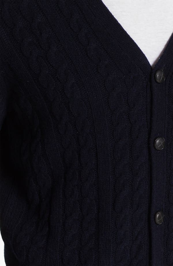 Alternate Image 3  - Ben Sherman Cable Knit Cardigan