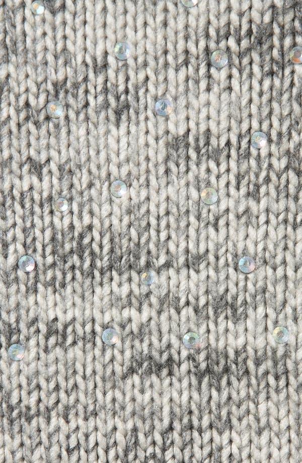 Alternate Image 3  - Topshop Tweedy Rhinestone Embellished Sweater