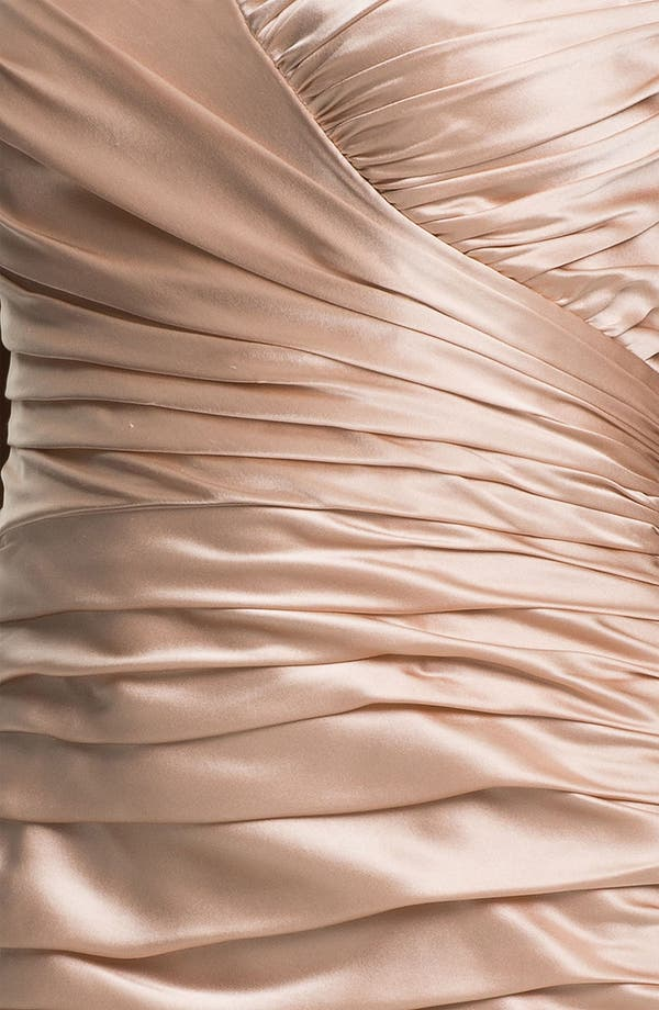 Alternate Image 3  - Jill Stuart Strapless Ruched Silk Charmeuse Dress