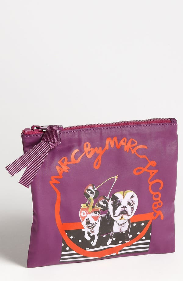 Alternate Image 1 Selected - MARC BY MARC JACOBS 'Quentin Mash-Up - Shorty & Olive' Small Zip Pouch