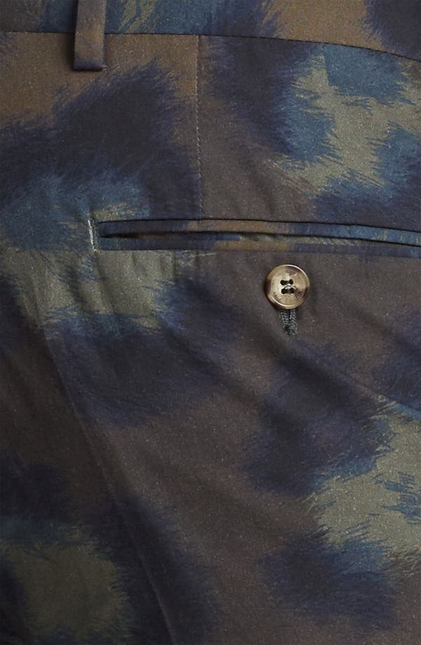 Alternate Image 3  - KENZO Leopard Camo Print Cotton Shorts