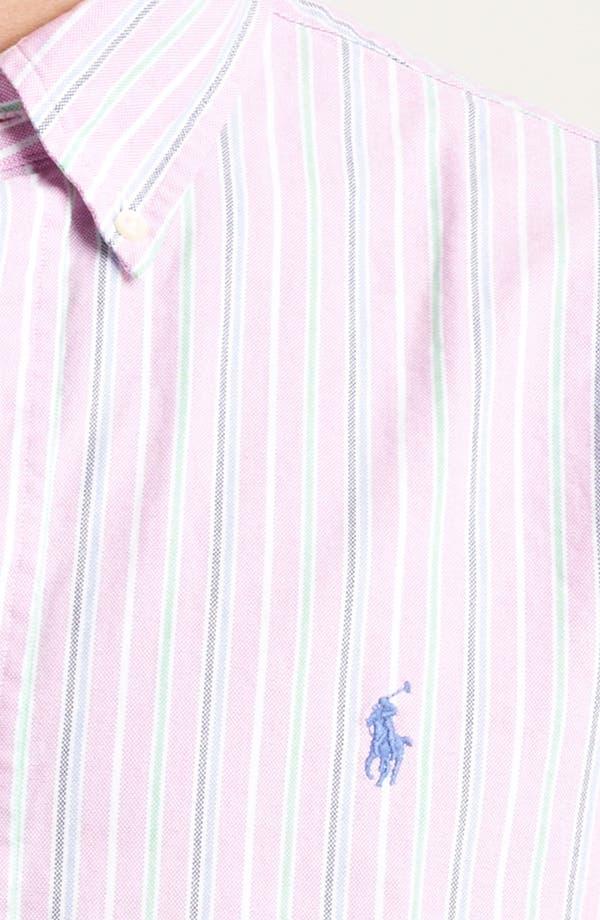 Alternate Image 3  - Polo Ralph Lauren Custom Fit Sport Shirt (Online Only)