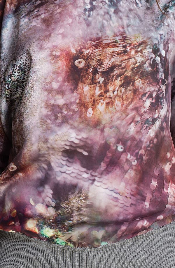 Alternate Image 3  - Ted Baker London Mixed Media Sweater