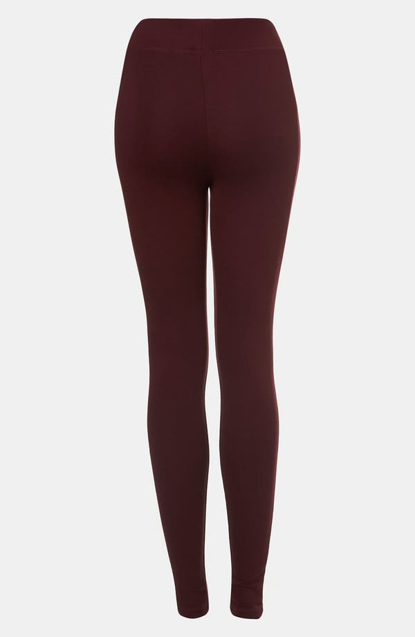 Alternate Image 2  - Topshop Ponte Knit Leggings
