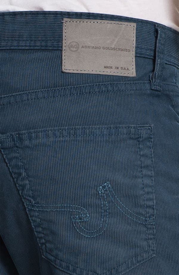 Alternate Image 3  - AG Jeans Straight Leg Corduroy Pants