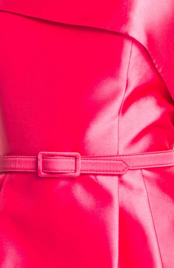 Alternate Image 3  - Eliza J Strapless Foldover Faille Tulip Dress