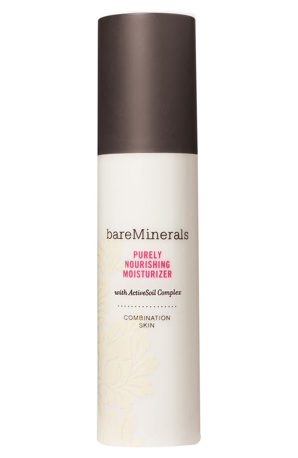 Alternate Image 1 Selected - bareMinerals® Deluxe 'Purely Nourishing' Moisturizer for Combination Skin (3.4 oz.) ($56 Value)