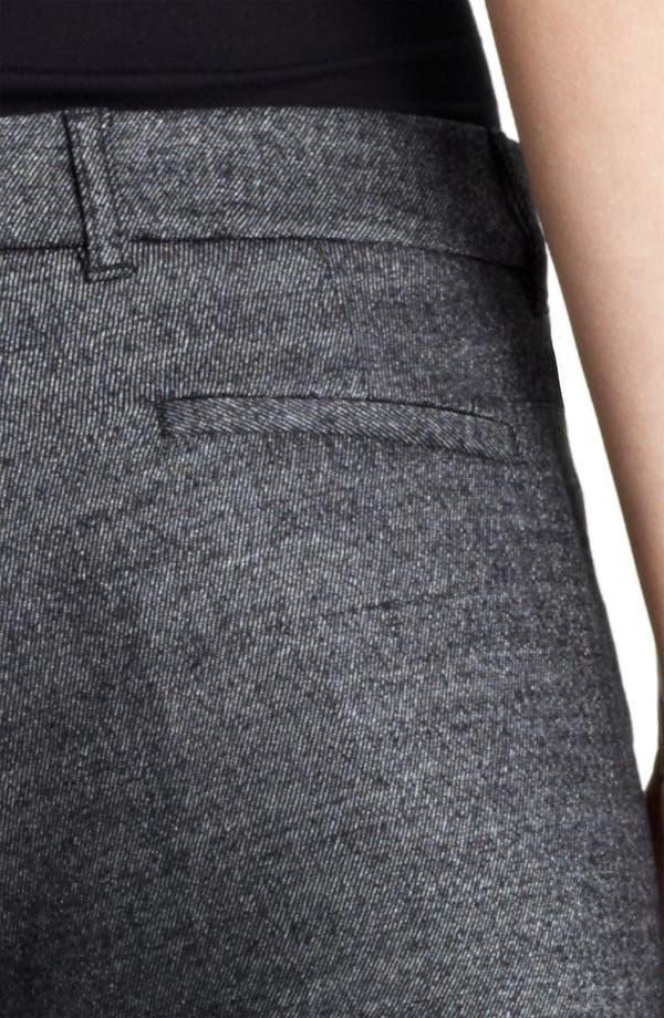 Alternate Image 3  - Burberry London Metallic Wool Pants
