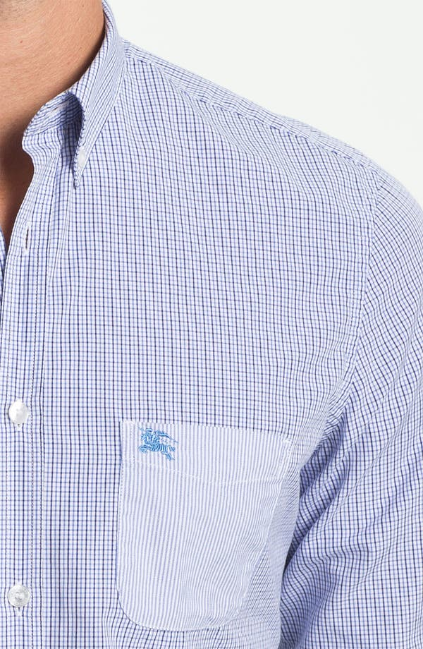 Alternate Image 3  - Burberry Brit 'Adken' Miniature Tattersall Check Sport Shirt