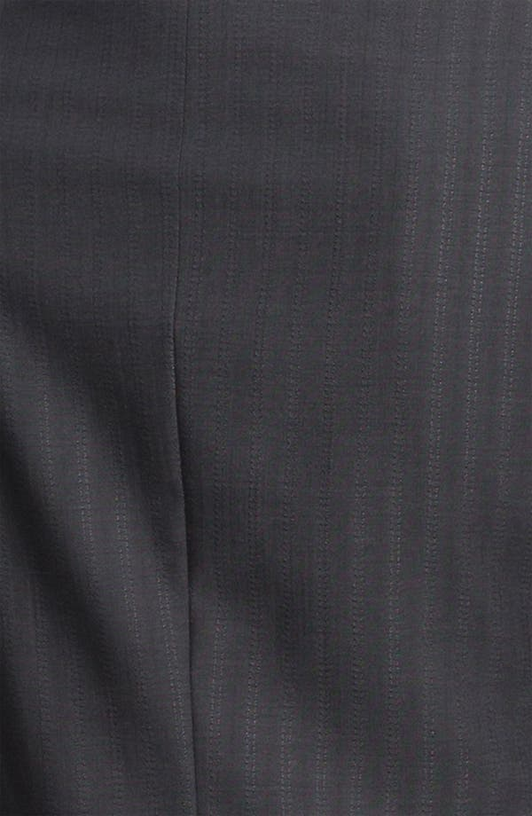 Alternate Image 3  - Zanella 'Tracy' Tonal Stripe Virgin Wool Jacket
