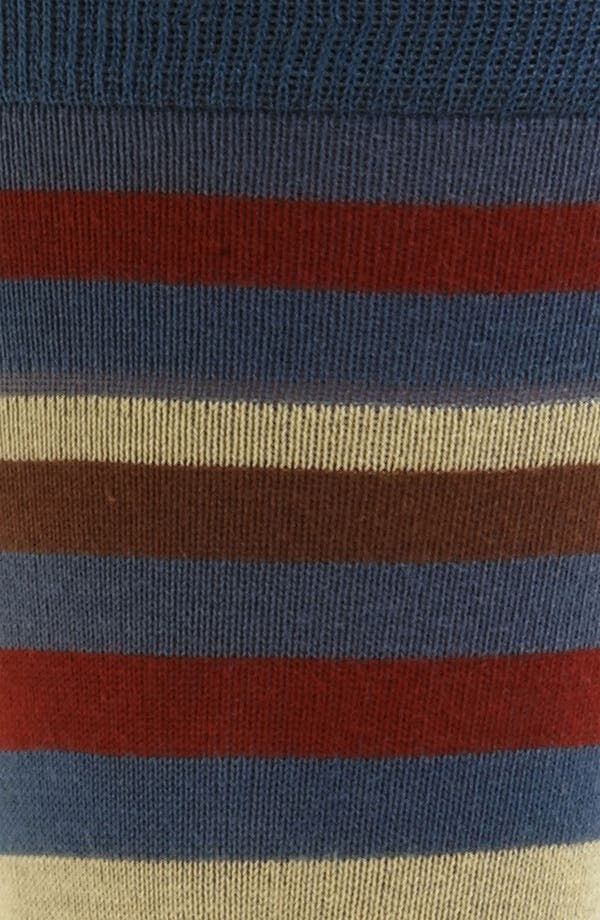 Alternate Image 2  - hook + ALBERT Stripe Socks