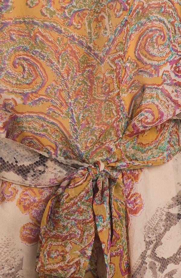 Alternate Image 3  - Kay Celine Silk Chiffon Tunic