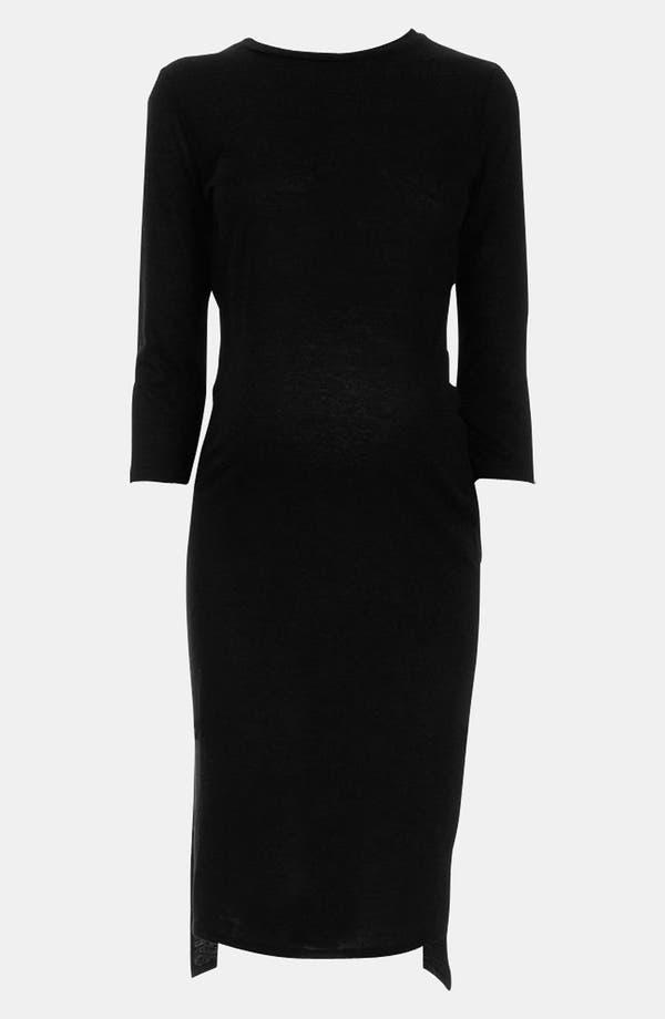 Alternate Image 3  - Topshop 'Fleck' Knit Maternity Dress