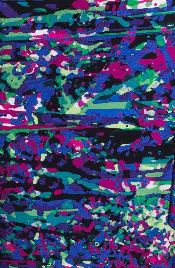 Alternate Image 3  - BCBGMAXAZRIA Print Jersey Wrap Dress (Petite)