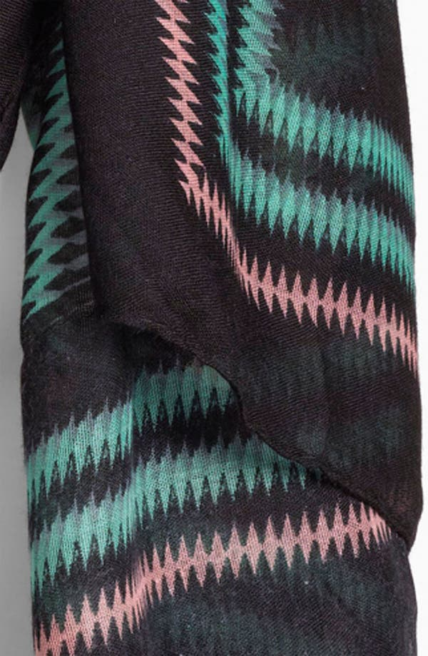 Alternate Image 2  - BP. Sheer Zigzag Scarf