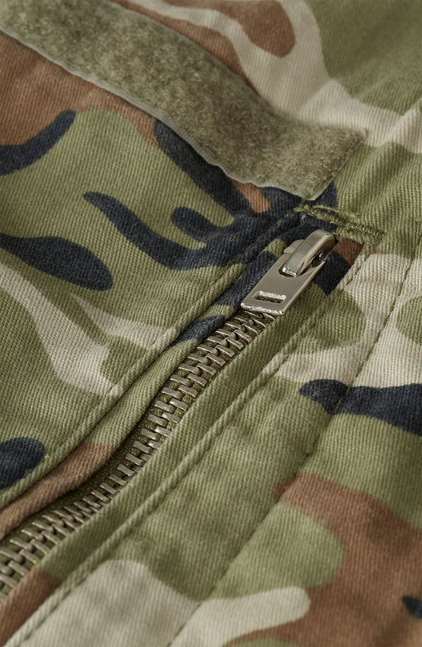 Alternate Image 3  - Topshop Camo Maternity Jacket