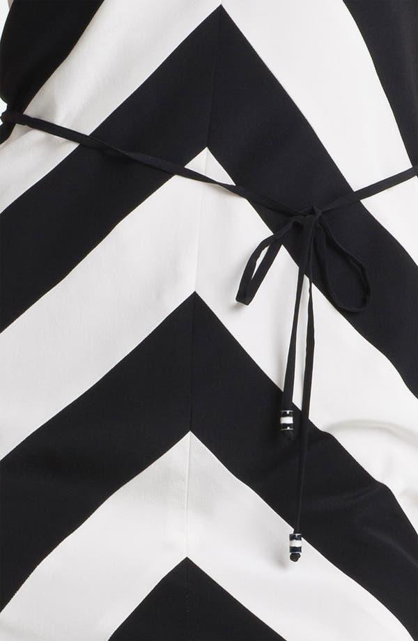 Alternate Image 3  - Trina Turk 'Rally' Stripe Silk Dress