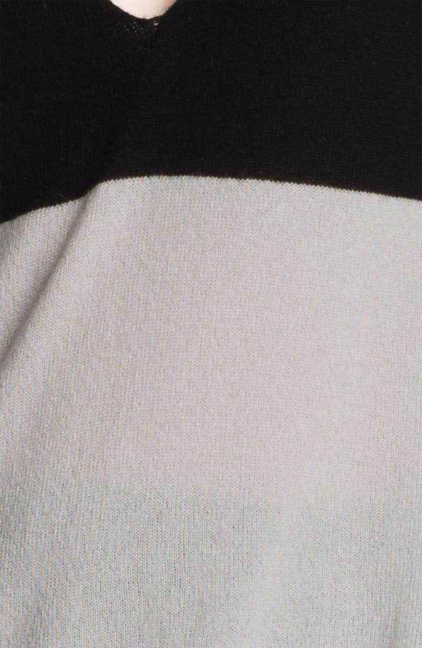 Alternate Image 4  - Halston Heritage Two Tone Sweater