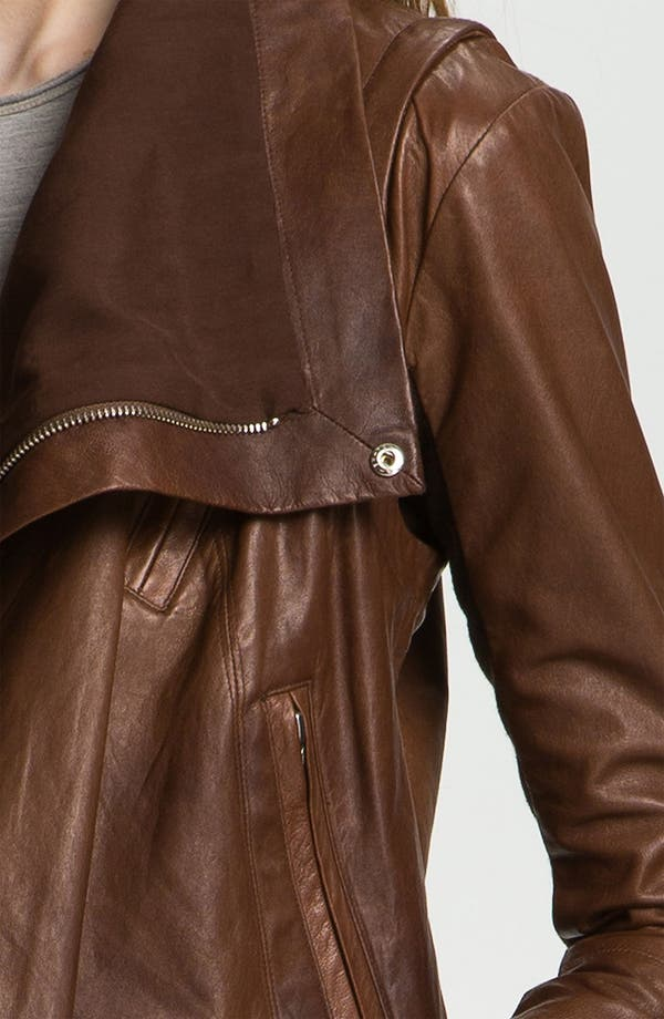 Alternate Image 7  - Veda 'Max' Convertible Leather Jacket