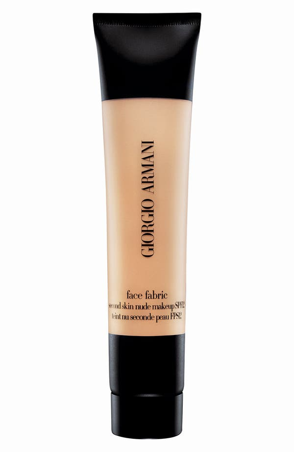 Alternate Image 1 Selected - Giorgio Armani 'Face Fabric' Foundation