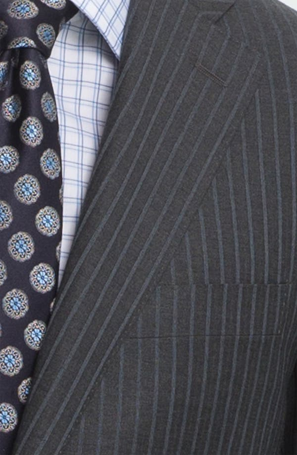 Alternate Image 6  - Canali Stripe Wool Suit