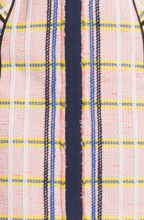 Alternate Image 3  - Rebecca Minkoff 'Clara' Textured Tweed Bustier Dress