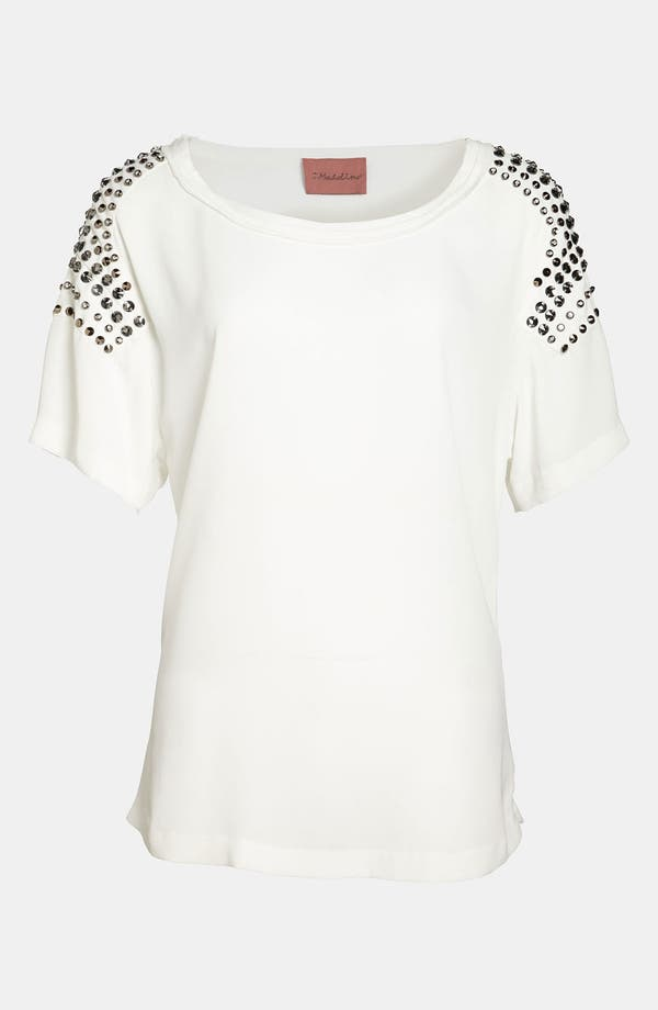 Alternate Image 1 Selected - I.Madeline Studded Shoulder Top
