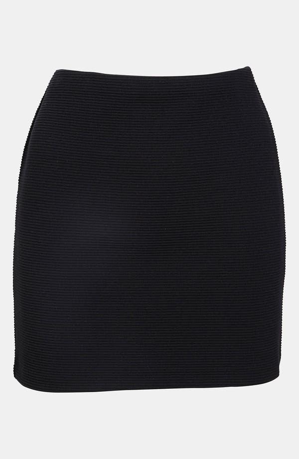 Main Image - BB Dakota Ribbed Skirt