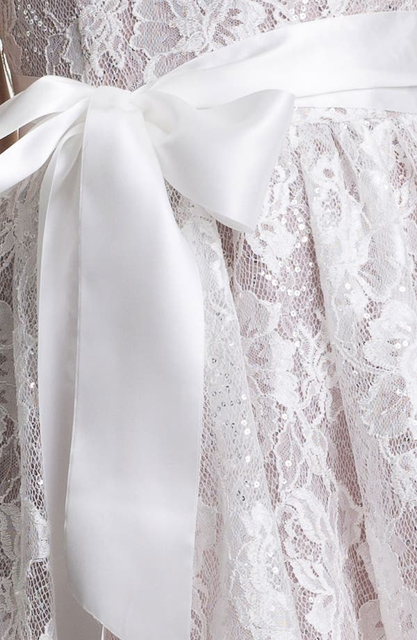 Alternate Image 3  - Jessica McClintock Sequin Lace Fit & Flare Dress