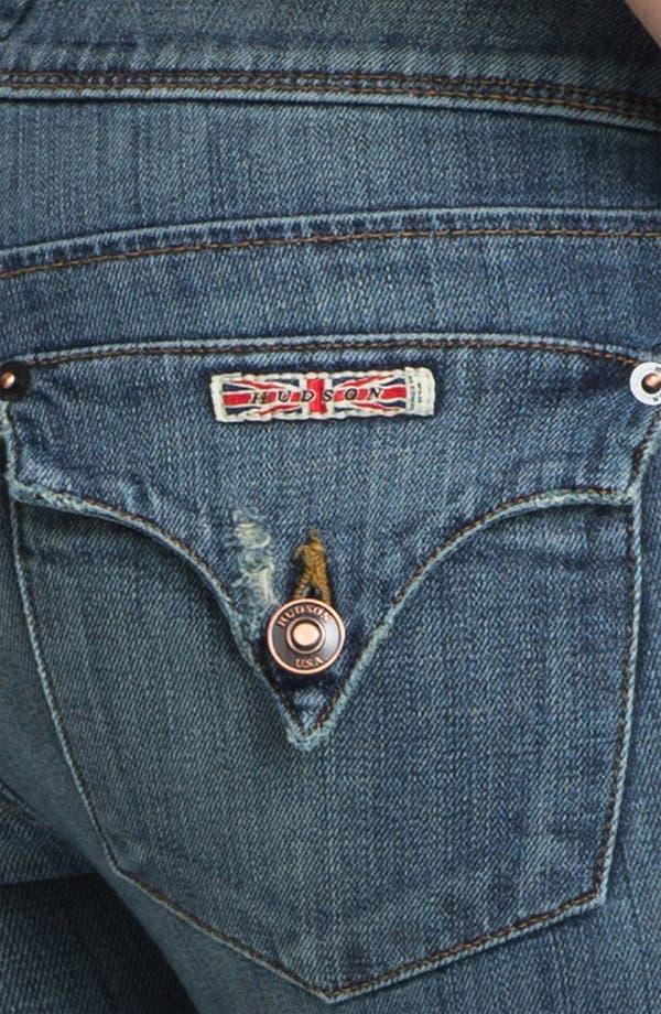 Alternate Image 3  - Hudson Jeans Skinny Stretch Jeans (Vintage Napoli)