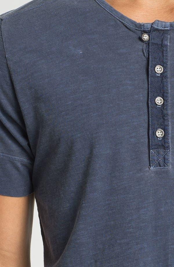 Alternate Image 3  - AG Jeans Short Sleeve Henley T-Shirt
