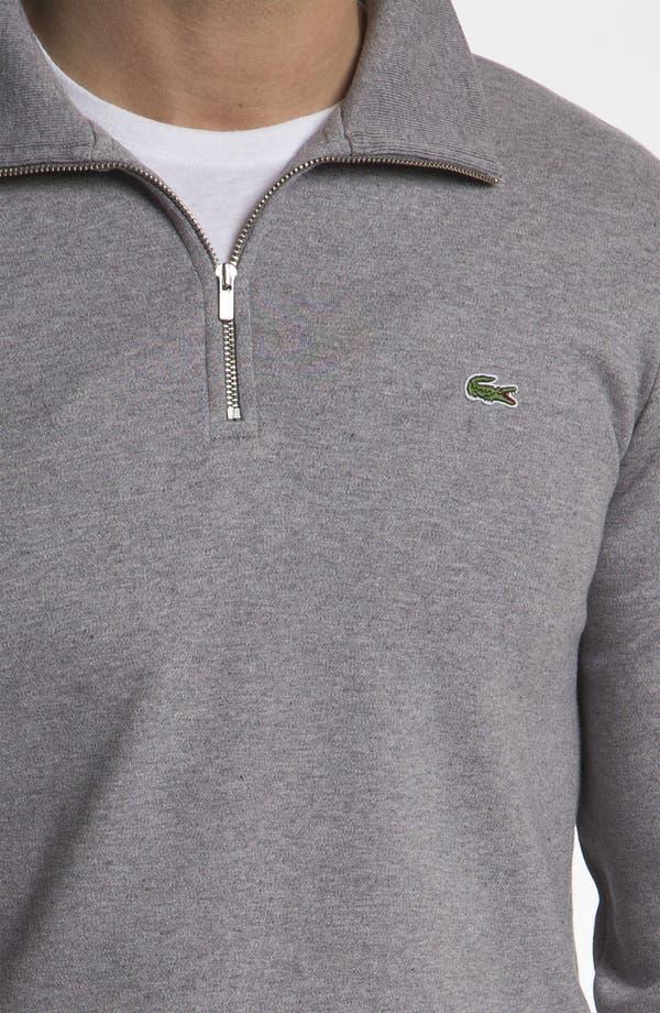 Alternate Image 3  - Lacoste Quarter Zip Sweater
