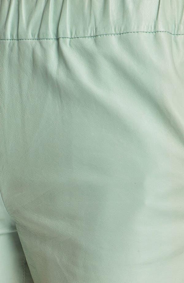 Alternate Image 3  - J Brand Ready-to-Wear 'Lynn' Leather Shorts