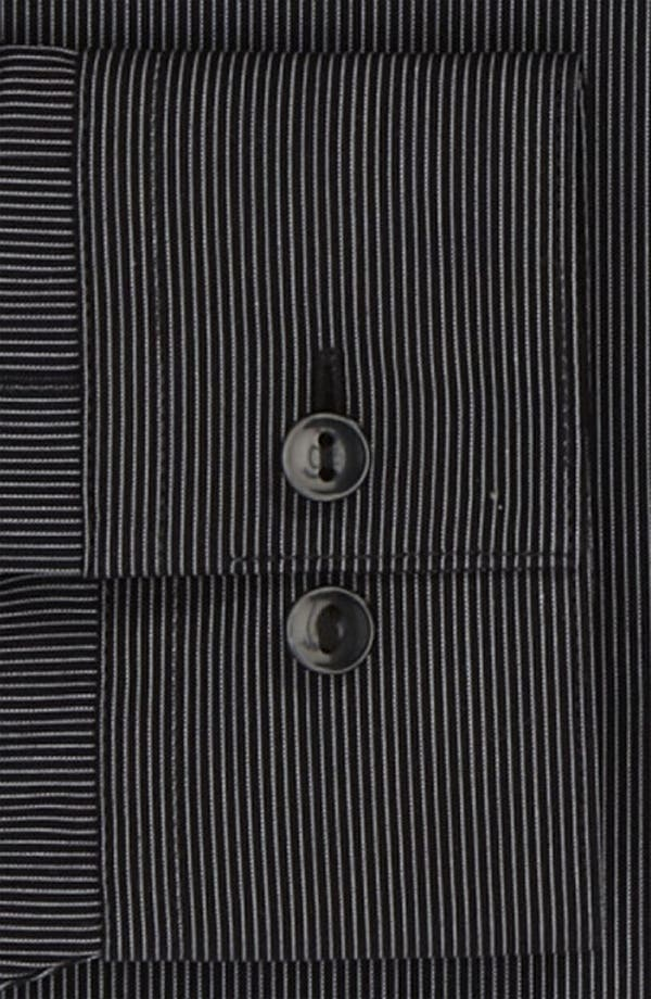 Alternate Image 2  - Calvin Klein 'Como Stripe' Slim Fit Dress Shirt