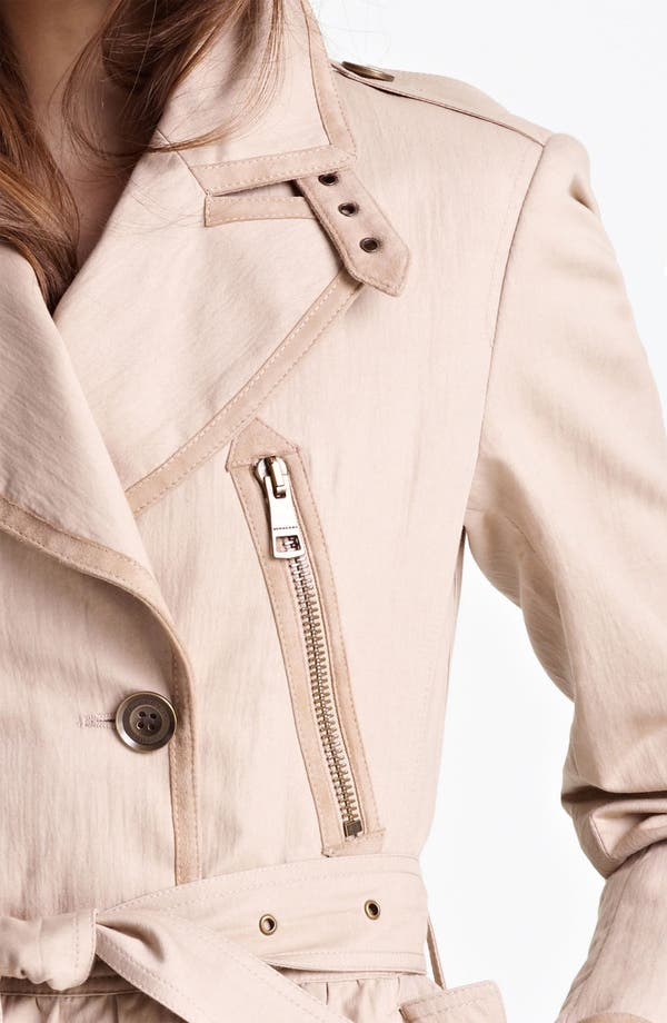 Alternate Image 3  - Burberry Brit 'Stainesby' Trench Coat (Online Only)