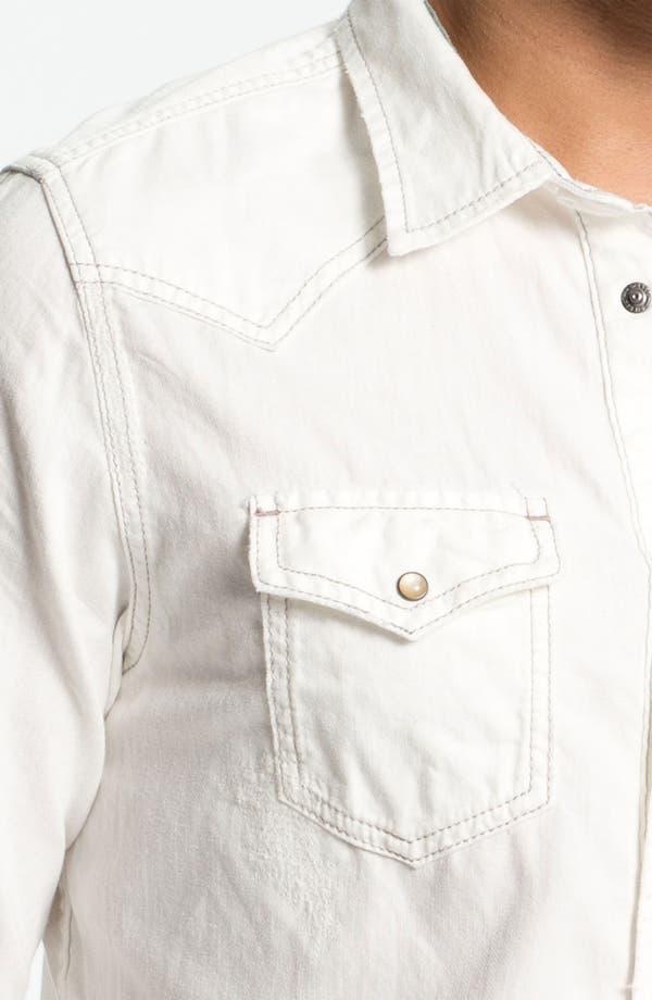 Alternate Image 3  - DIESEL® 'Sonora' White Denim Western Shirt