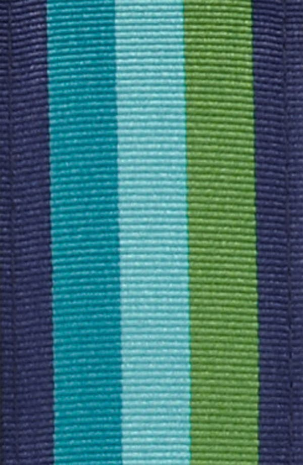 Alternate Image 2  - Brooks Brothers Ribbon Stripe Belt