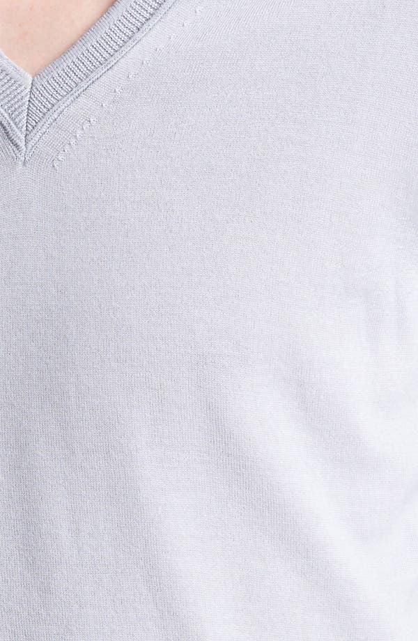 Alternate Image 3  - Burberry London 'Barnett' V-Neck Sweater