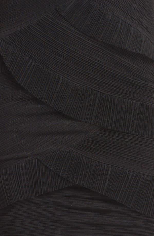 Alternate Image 3  - BCBGMAXAZRIA Ruched Mesh Tier Dress