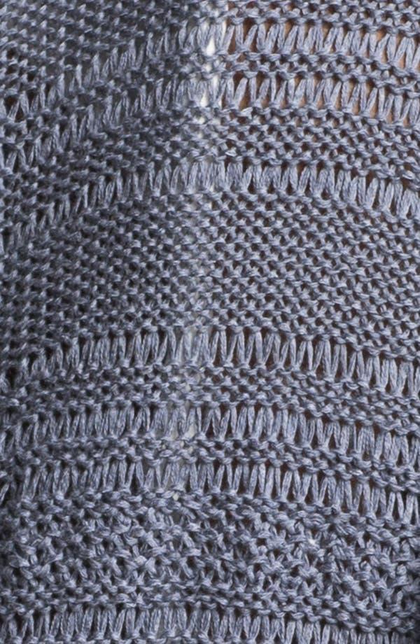 Alternate Image 3  - Rubbish Open Weave Cardigan (Juniors)