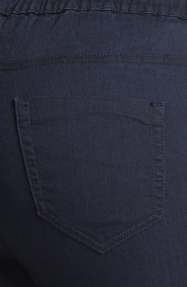 Alternate Image 3  - Evans Denim Leggings (Plus Size)
