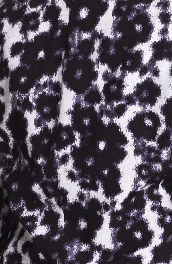 Alternate Image 3  - Sejour Print Tuxedo Jacket (Plus Size)