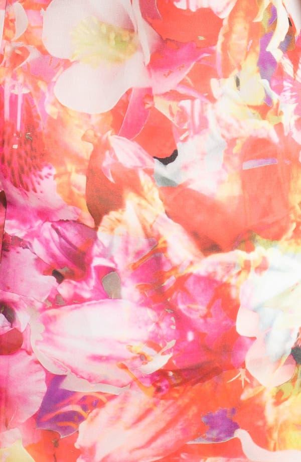 Alternate Image 3  - Vince Camuto Floral Print Sleeveless Blouse (Plus Size)