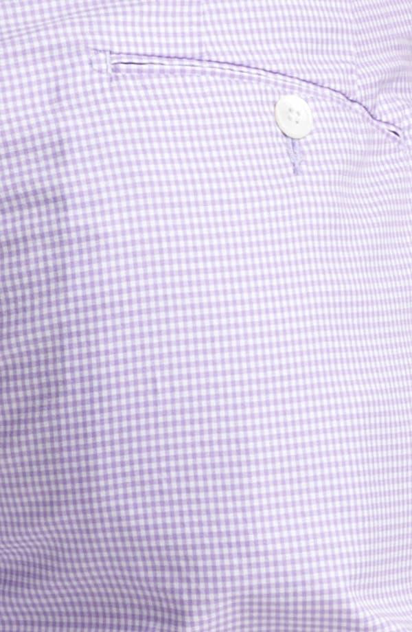 Alternate Image 3  - Polo Ralph Lauren Slim Gingham Shorts