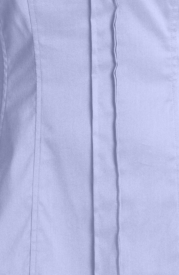 Alternate Image 3  - BOSS 'Bashina 2' Fitted Cotton Blend V-Neck Blouse