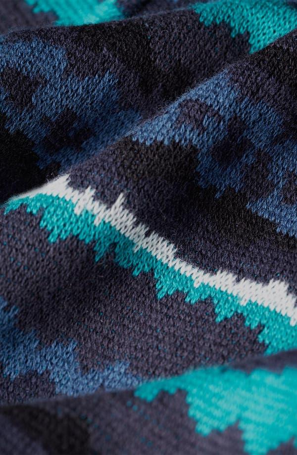 Alternate Image 3  - Topman 'Static' Short Sleeve Sweater