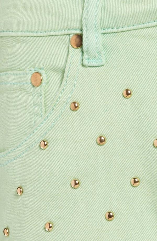 Alternate Image 3  - MINKPINK 'Cheeky Stud' High Waist Shorts